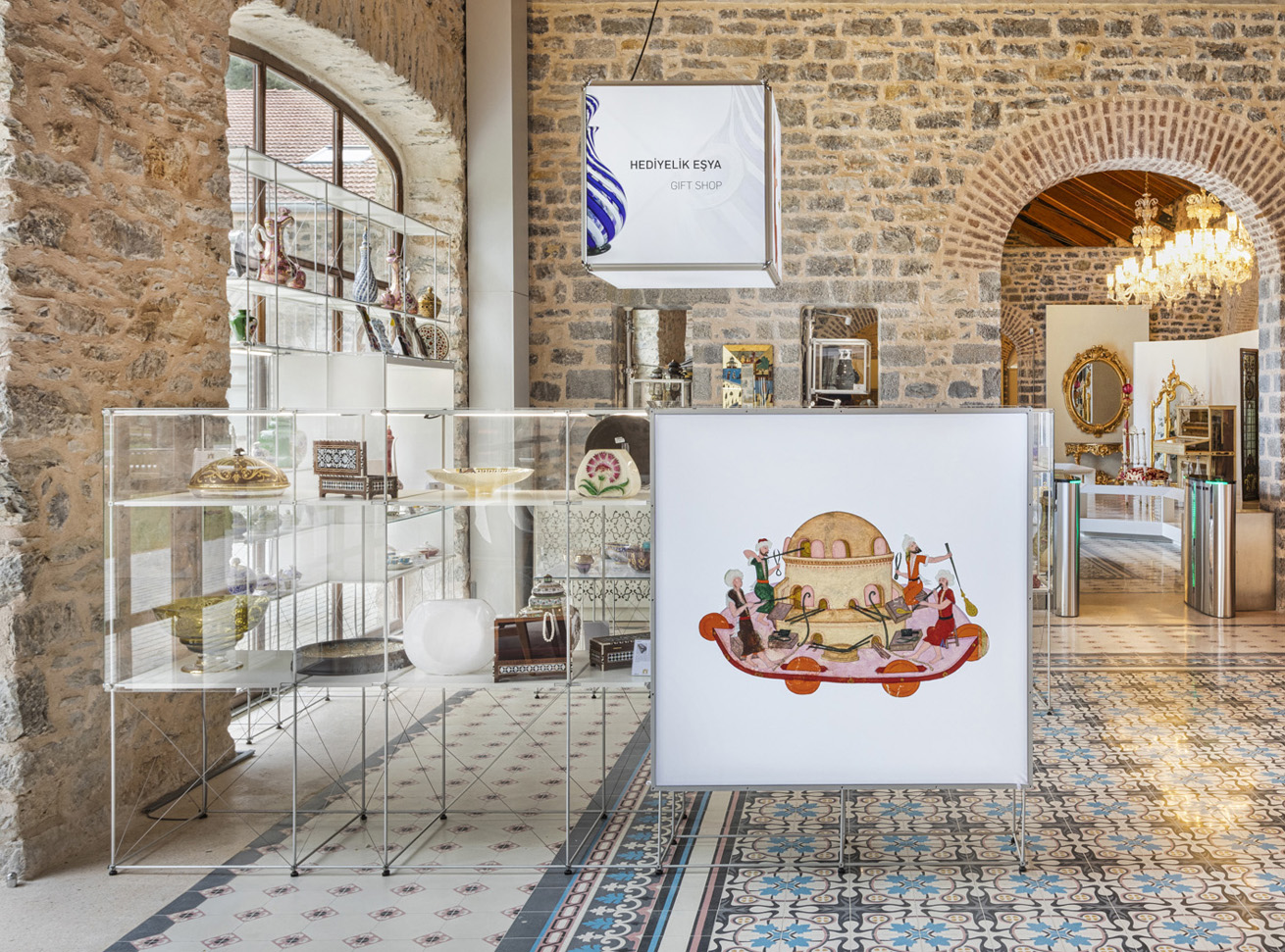 Beykoz Crystal and Glass Museum opened