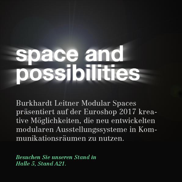 Leitgedanke von Burkhardt Leitner Modular Spaces: space and possibilities